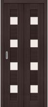 Складная дверь Порта 23 ДС wenge veralinga