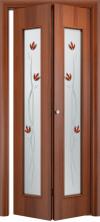 Складная дверь 22 Х ДО итальянский орех
