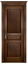Дверь межкомнатная Валенсия глухая античный орех