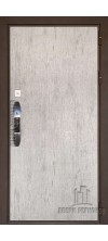 Входная дверь Новатор  Серый шпат