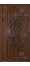 Входная дверь Атлант Golden Oak+патина