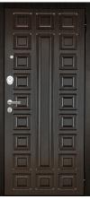 Входная дверь Аргус Люкс 3к 2п Сенатор венге