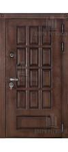 Входная дверь Центурион Термо лиственница морёная + патина